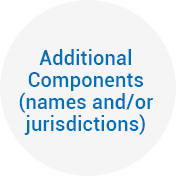 Additional Components (names and/or jurisdictions)